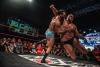 Die internationale Wrestlingelite in Leipzig